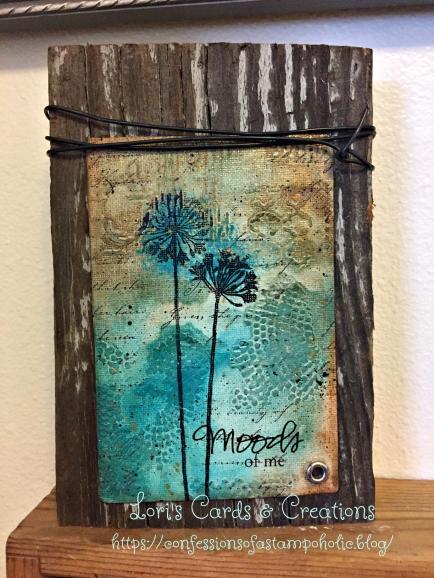 reclaim wood art block - moods of me for social media