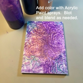 4 acrylic paint
