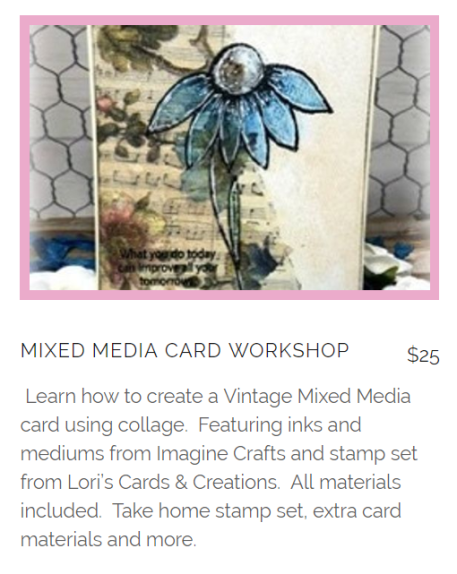 Lets Create Expo MM card Course pic