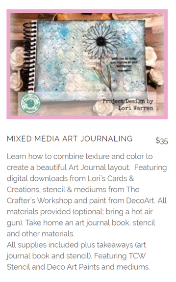 Lets Create Expo Art Journal Course pic
