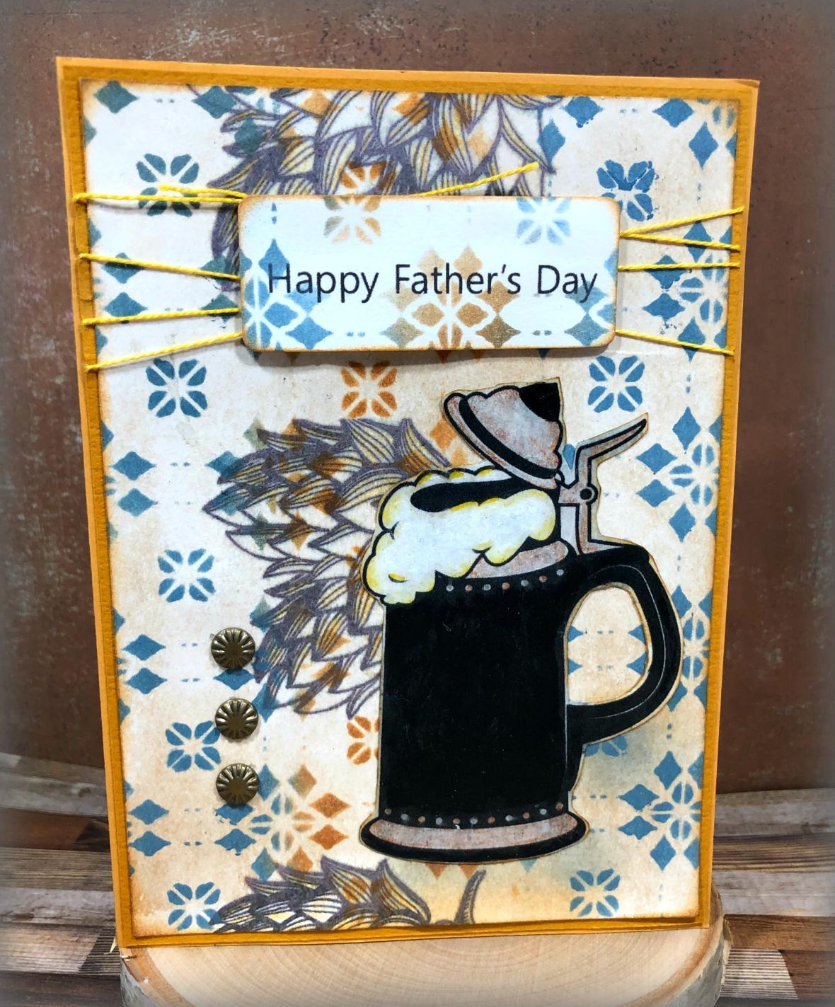Fathers day digi card 1