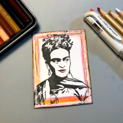 8 color frida