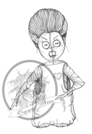 Frankensteins Bride wm