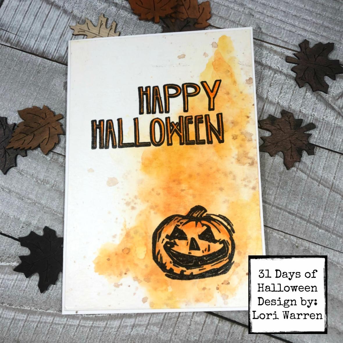 Day 18 Happy Halloween wm