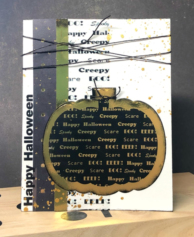 Grafix.Oct Pumpkin Card main