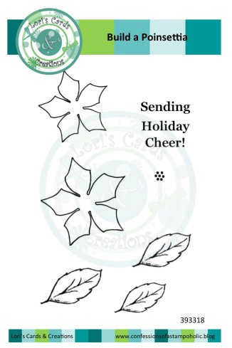 Build a Poinsettia set on LC&C template