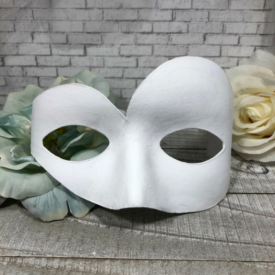 Mystical Dragonfly Mask step 1