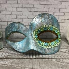Mystical Dragonfly Mask step 3 dew drops
