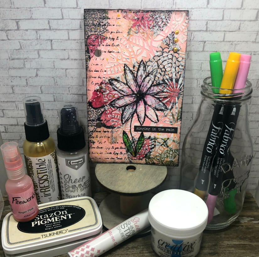 Spring Mini Art Journal