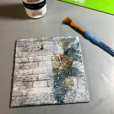 3 gesso texture