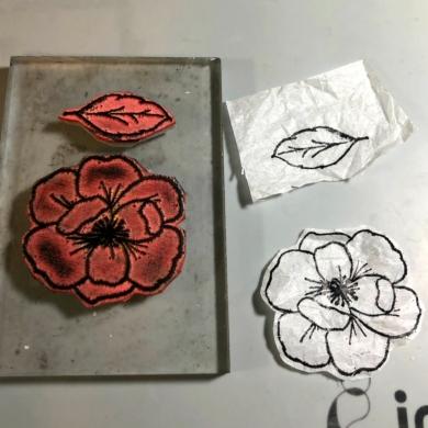 4 stamp tissue