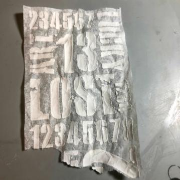 6 texture on tissue