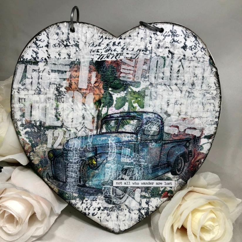 Heart shaped Journal 1