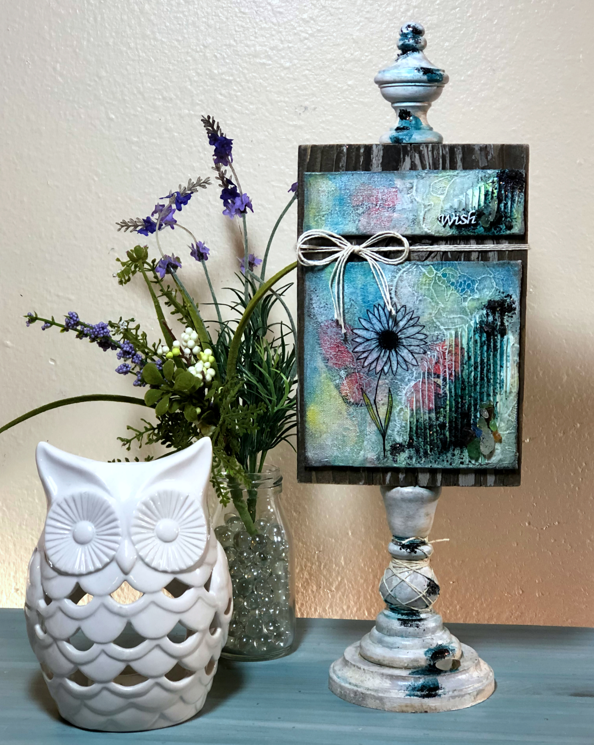 Mixed Media wishes home setting